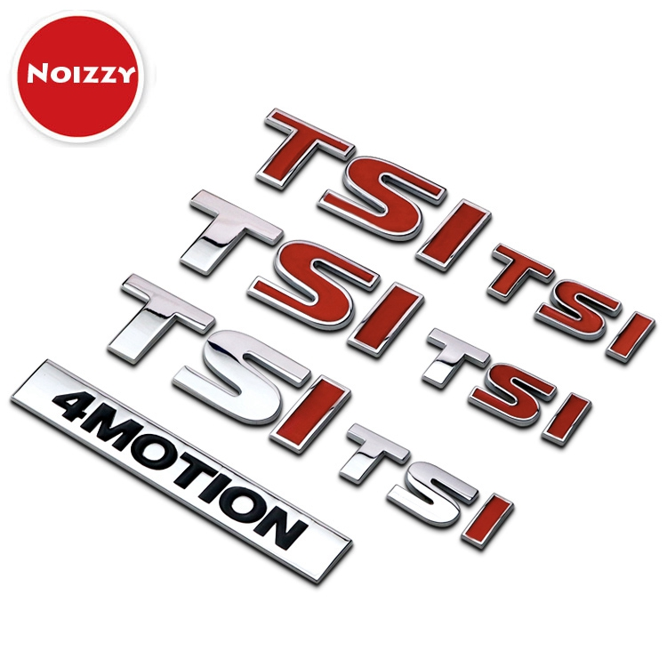 4 motion tsi ho displacement car auto emblem chrome trunk badge sticker tuning for volkswagen vw t5 passat golf 4 5 polo touran