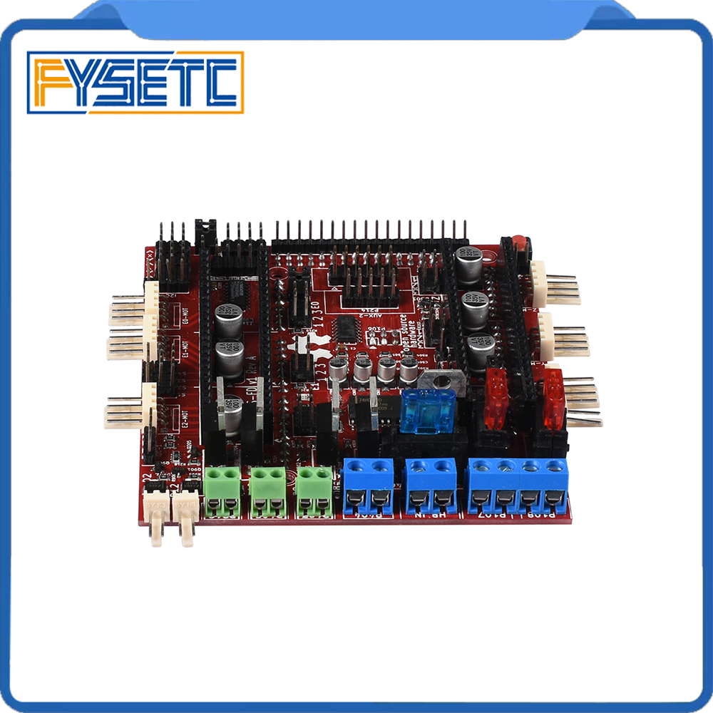 RAMPS-FD Shield Ramps 1.4 Control Board 32bit Cortex M3 ARM Improved Version For Arduino Due Ramps Motherboard 3D Printer