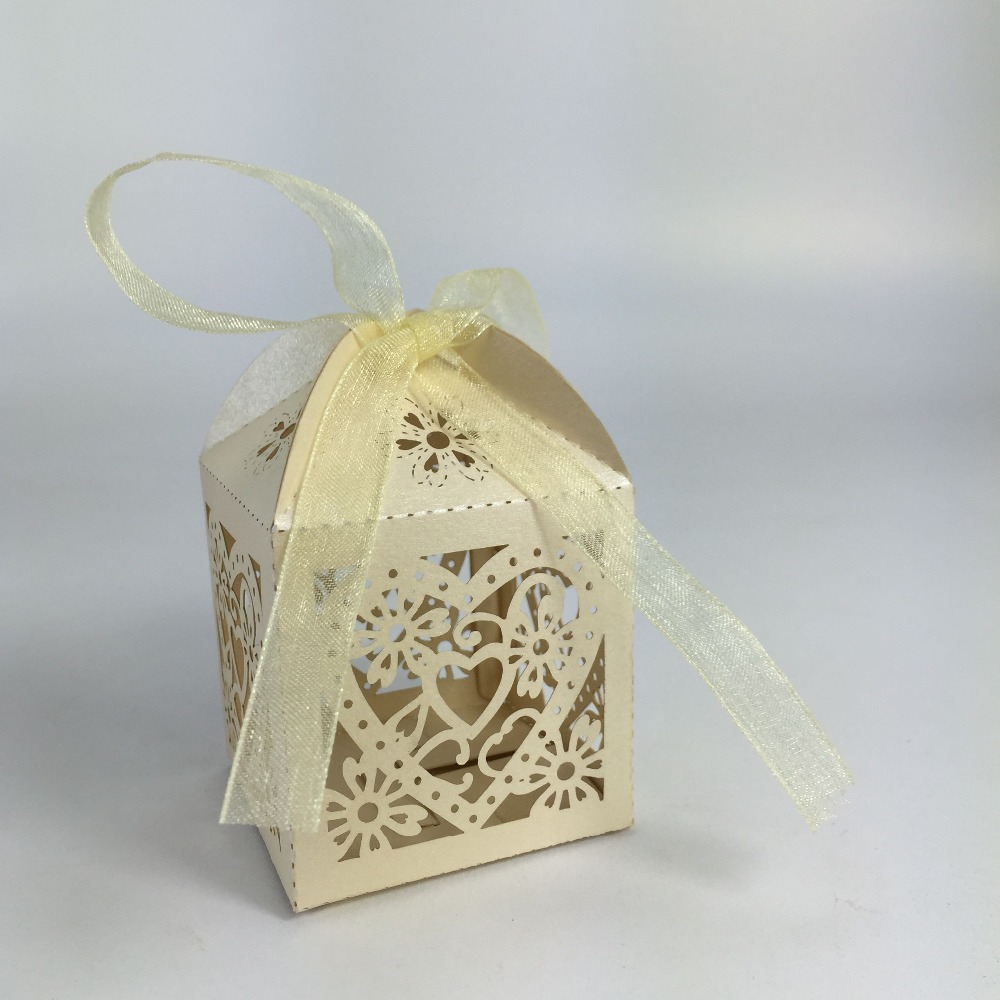 Laser Cut Paper Box/Die Cut Wedding Party Favor Boxes/Gift Box for ...