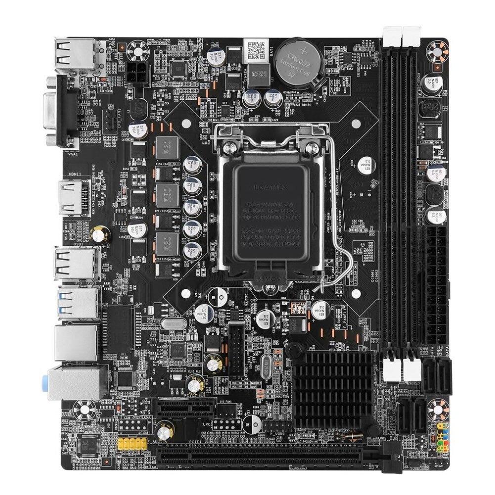 Carte mère LGA 1155 USB 3.0 DDR3 pour Intel B75 CPU Interface bureau graphique intégré carte principale accessoires informatiques