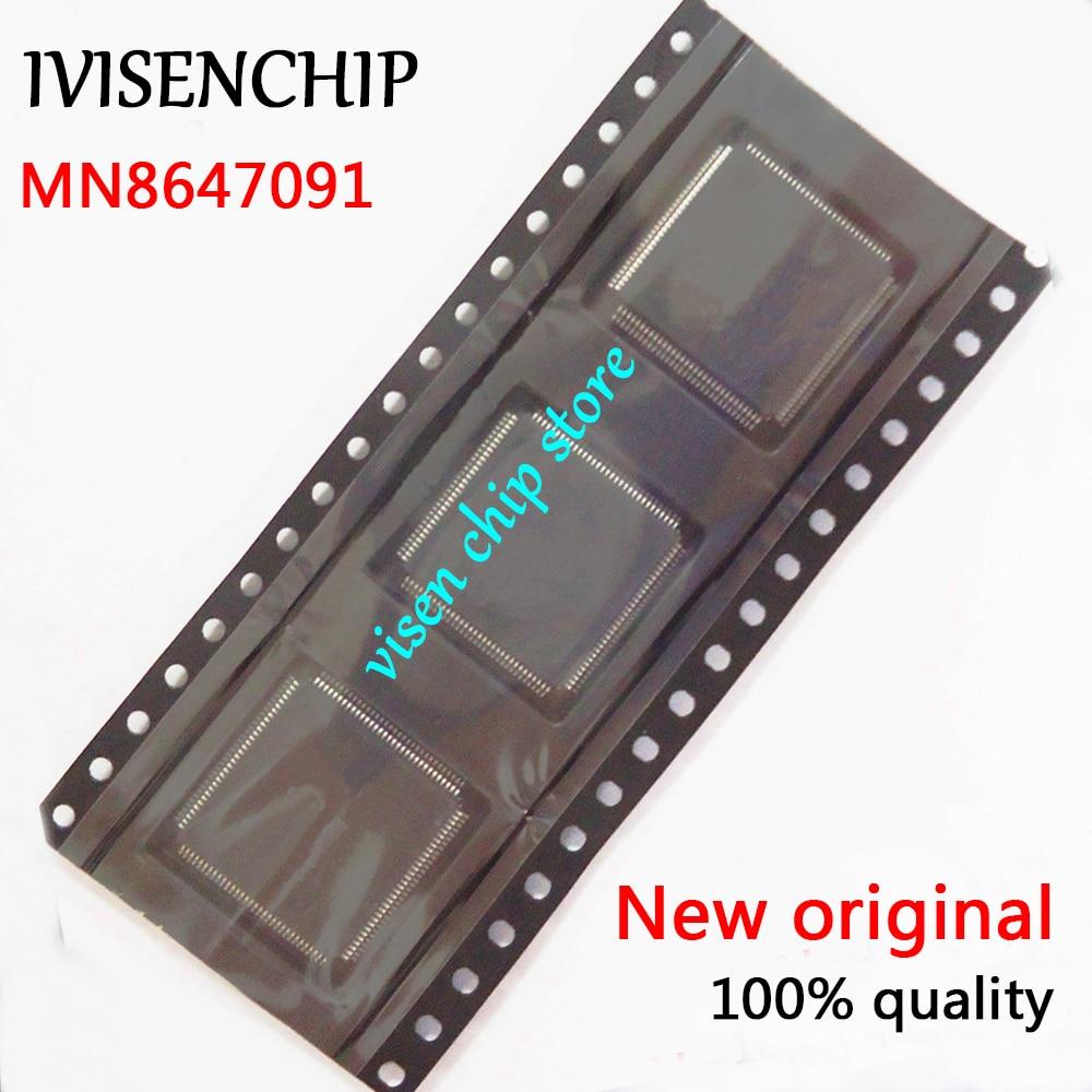 5pcs MN8647091 QFP 100