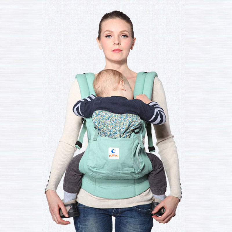 Ergonomic Organic Cotton Baby Carrier Portable Multifunctional Kid Carriage Wrap Mochila Portabebe Adjustable Newborn Baby Sling