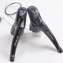 Новая SHIMANO 105 ST R7000 2×11 s 22 s Скорость переключения рычага Road Переключатель для велосипеда триггер/тормозной рычаг велосипеда Запчасти