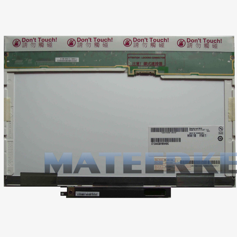 12.1 New LED Screen for HP EliteBook 2530P B121EW07 V.0 LCD LAPTOP 20 PIN 1280x800 new 15 4 1280x800 led screen for au optronics b154ew09 v 2 lcd laptop