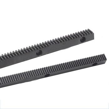 Hole 1M 1.5M 2M Spur Rack 12*12*0.5 15*15*0.5 20*20*0.5 Pitch of 100mm Surface Blackened Treatment 45# Steel - sale item Hardware