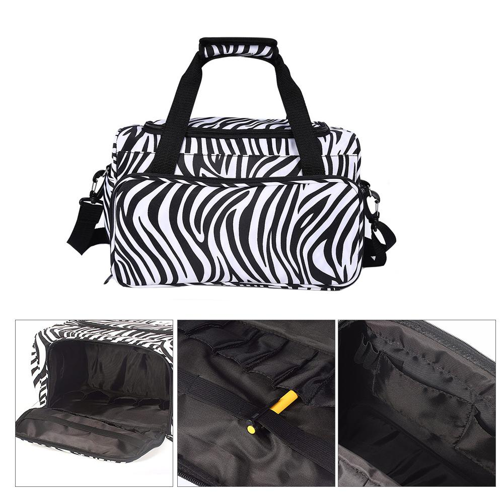 Image 2 - Professional Hairdressing Tool Bag Salon Hair Tools Shoulder Bag Large Capacity Hair Stylist Cosmetic Supplies Accessory Handbag-in Styling Accessories from Beauty & Health