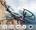 Jjrc h8c rc quadcopter drone con cámara hd 2.0 mp opcional 4-CH 2.4 GHz 6-Axis Gyro Helicóptero de Control Remoto VS X5c F183 FSWB