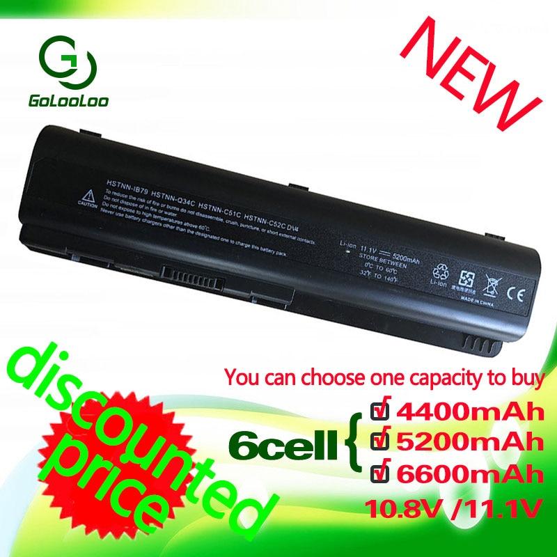 Golooloo 11.1v akkumulátor HP Pavilion CQ71-hez CQ70 CQ60 HSTnn-lb72 CQ45 CQ50 CQ61 HDX 16 DV4 DV5 DV5T DV5Z DV6 511883-001