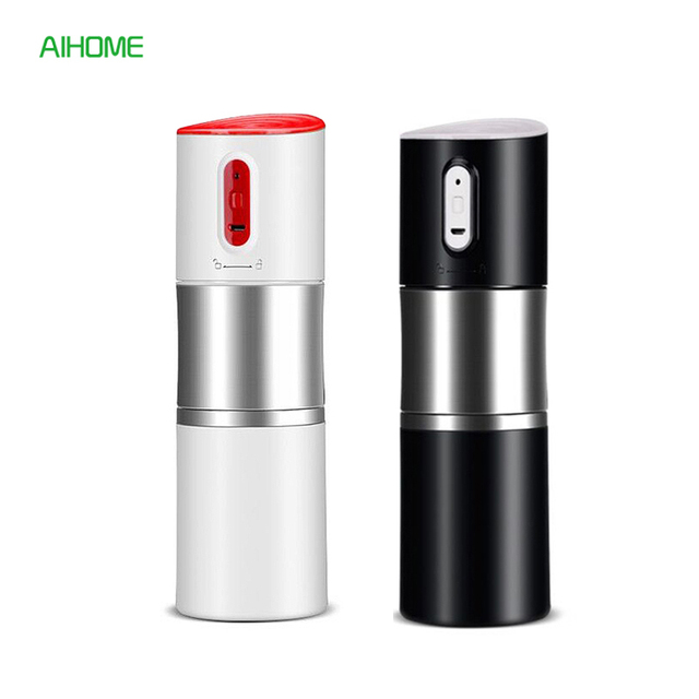 Mini Portable Electric Coffee Maker USB Charging Auto Coffee Machine