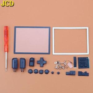 Image 3 - JCD 1 sztuk pełna gra Protect Cases obudowa pokrywa zestaw ze śrubokrętem dla Nintend DS Lite NDSL naprawa obudowa wymienna Case