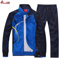 UNCO&BOROR women Men Sportswear Suit Autumn Spring jacket Men set Tracksuit outwear brand clothing man sportsuit hoodies+pant