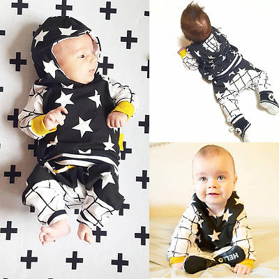 Cute-Baby-Kids-Boy-Girl-Tops-Star-Hooded-SweatshirtsPants-2pcs-Outfits-Set-Clothes-6M-3Y-3