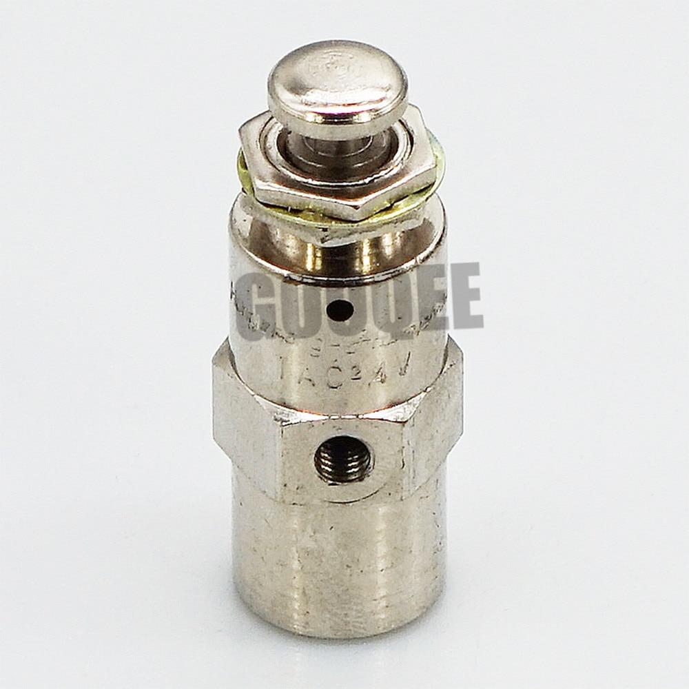 TAC Pneumatic Button Valve TAC-3V 3P 3S 4V 4P TAC2-31V 31P 41V 41P Mechanical Valve 2 position 5 way cylindrical mechanical air pneumatic valve tac2 4v
