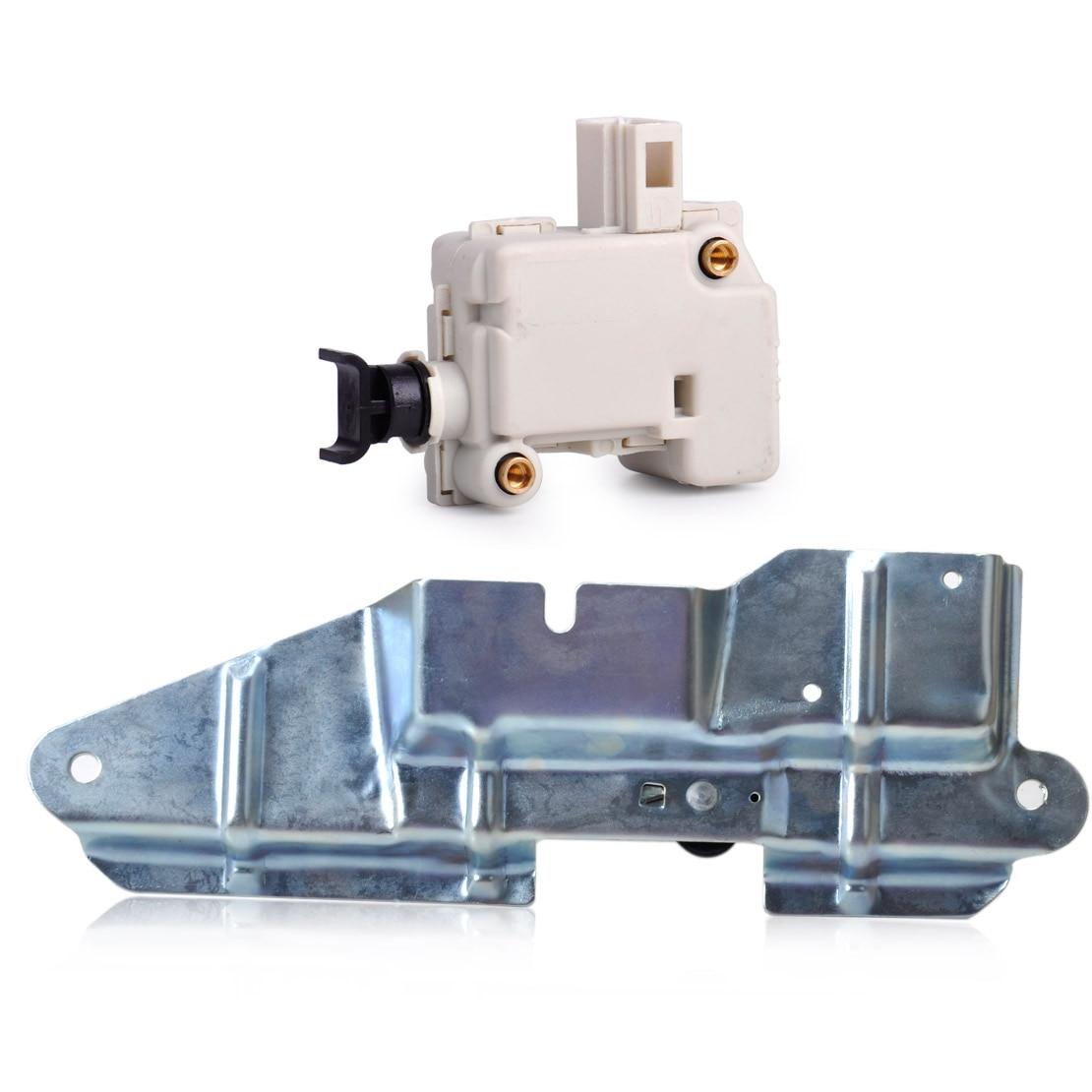 Beler Bootlid Trunk Tailgate Lock Servo Motor & Latch Actuator Bracket Mount Set 3B0959781C 3B5827061 For VW Jetta Bora