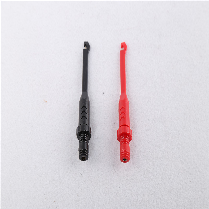 Diagnostic Tool Thorn Clamp 2pcs lots MST 08 Clip Plug Any Banana Jack Equipped Lead Into The Back Of The Piercing Test Clip