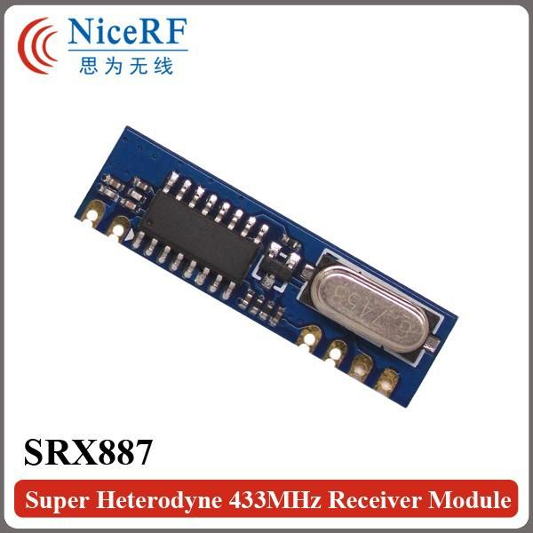 SRX887-Super Heterodyne 433MHz Receiver Module-2
