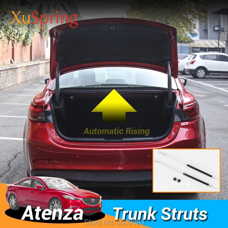 Refit Rear Tailgate Back Trunk Door Spring Shock Lifting Bracket Hydraulic Rod Strut Bars For Mazda 6 Mazda6 Atenza 2012-2019 GL