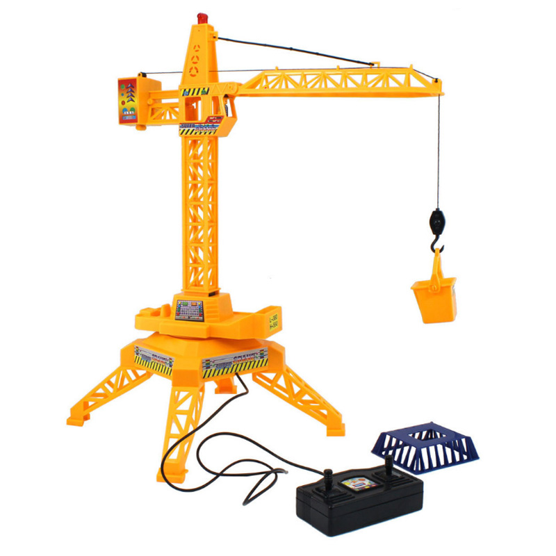 New Arrival Strange Wire Control Construction Tower Crane Toys Simulation  Model Educational Toys For Children Pretend Gift Xmas