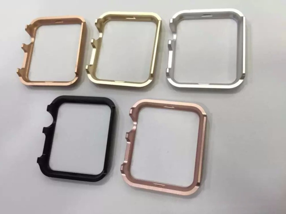 online store df194 8d5c9 US $5.9  Luxury Stainless Steel Metal Hard Watch Case Cover For Apple Watch  iWatch 38 /42mm Watch Acessory-in Watchbands from Watches on ...