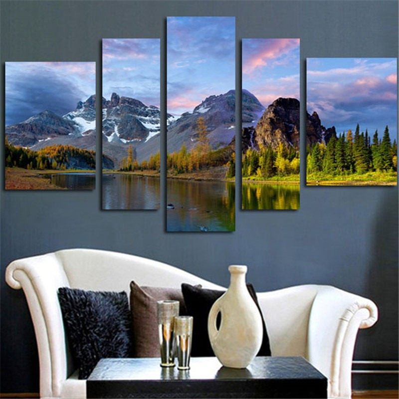 Canvas, Mountain, Art, The, Picture, Decor