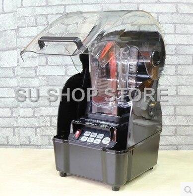 Faible Bruit 3HP JTC Omniblend TM-800AQ (Omni-Q) Quiet commercial professionnel bar smoothie mélangeur Mélangeur Presse-agrumes avec son couvercle
