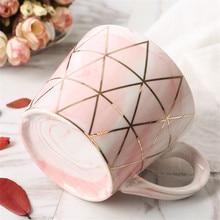 Luxury Marble Patterned Eco-Friendly Ceramic Coffee Mug