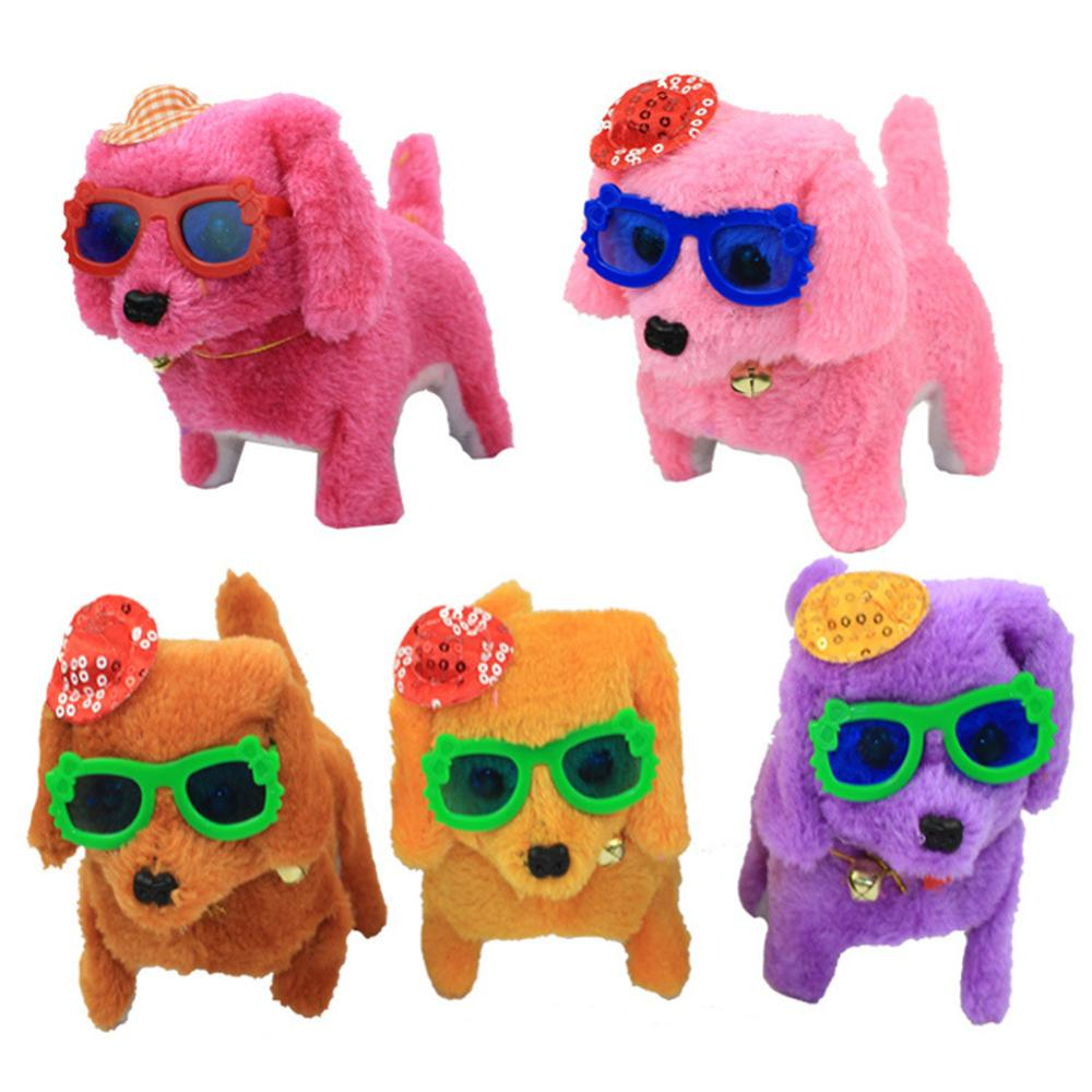 2019 New Music Light Cute Robotic Electronic Walking Pet Puppy Funny Gadgets Novelty Interesting Toys Electronic Pets Kids Gifts