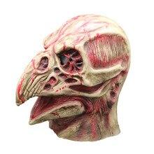 Halloween Mask Horror Bloody Bird Head Latex Full Face Party Carnival Adult Costume Cosplay Helmet for Men/Women