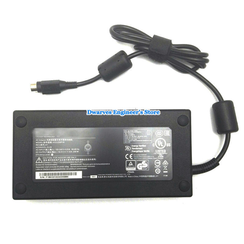 AC Adapter Power Adapter Charger for MSI Gaming Laptop GT75VR 7RE Titan