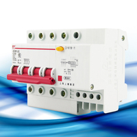 Air Switch With Leakage Protection DZ47LE 63 4P Small Household Leakage Circuit Breaker