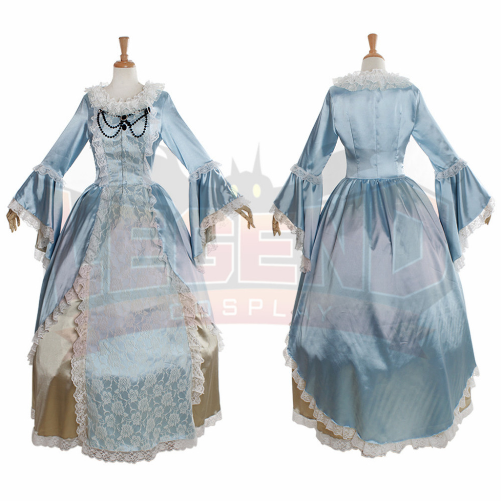 Elegant Marie Antoinette Civil War Medieval Renaissance Dress ...
