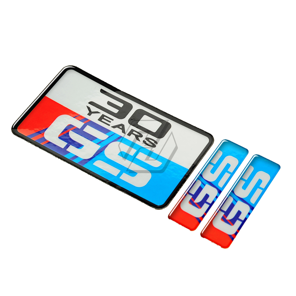 3D GS 30 Years 30TH Sticker Anniversary Tank Pad Stickers For F850 F600 F650 F700 F750 F800 GS R1200GS G310GS Case For BMW Tank