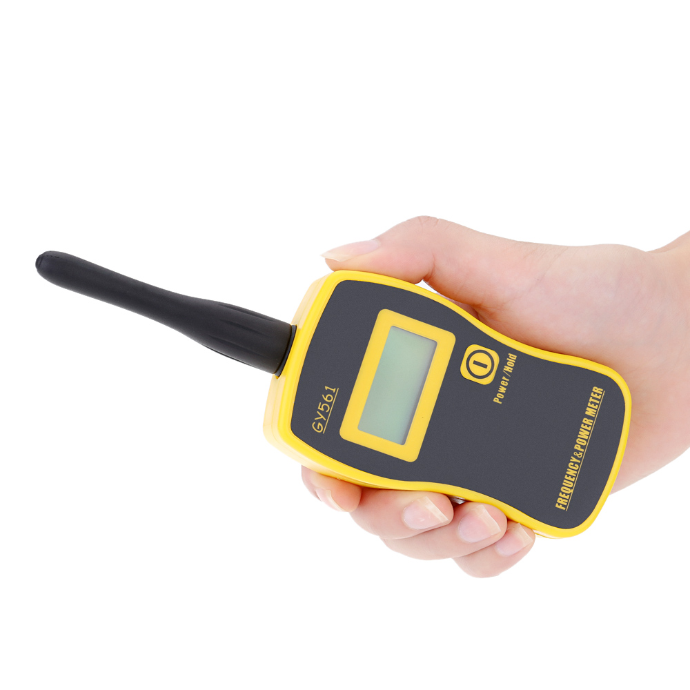 GY561 Mini Handheld Frequency Counter Meter Power Measuring Tester for Two-way Radio lcd digital frequency counter handheld cymometer with uhf antenna analyzer frequency meter 50mhz 2 6ghz for two way radio