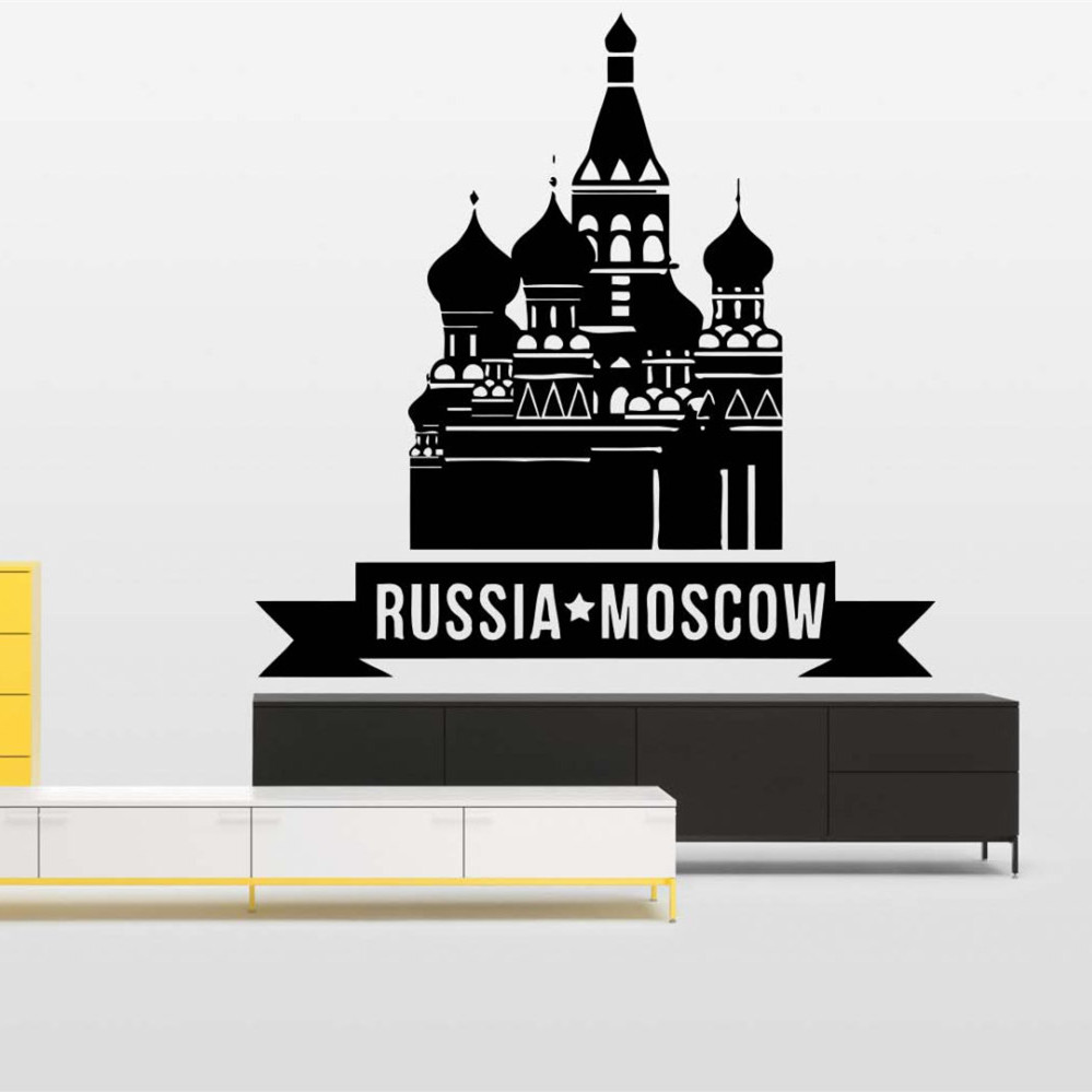 online buy wholesale moscow homes from china moscow homes home decor vinyl sticker mural decal poster design city skyline interior russia moscow wall sticker world