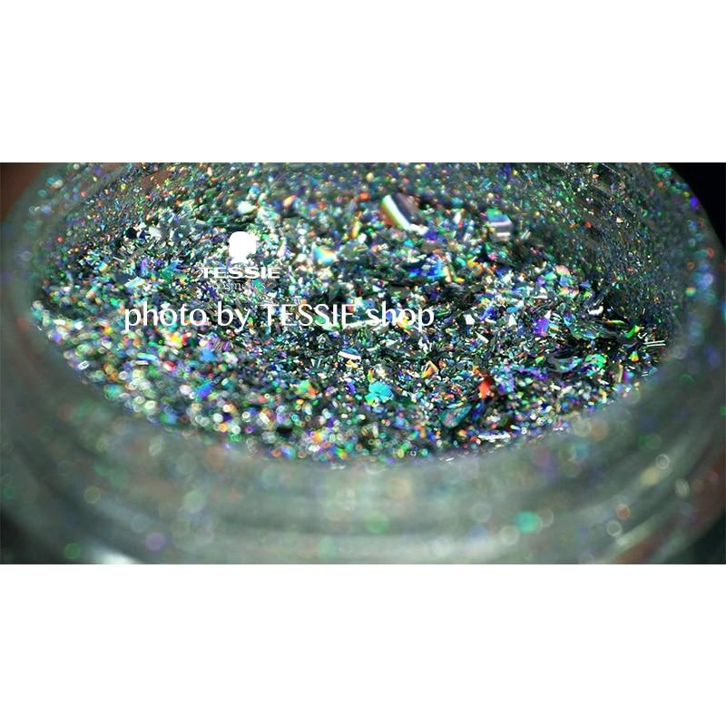 Tessie խանութ 0.2 գրամ Galaxy Holo Flakes Magic - Մանիկյուր - Լուսանկար 3