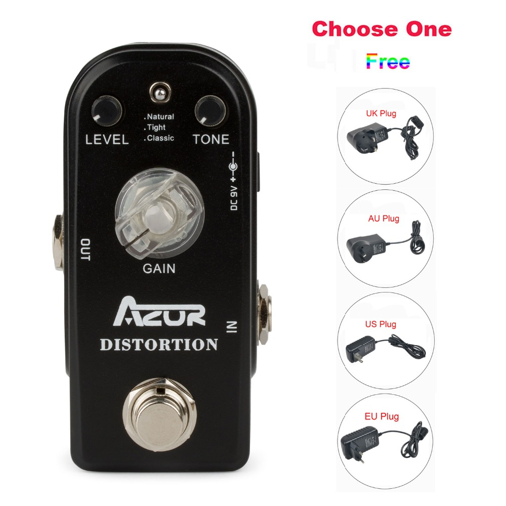 AP-302 Distortion Mini Guitar Effect Pedal with Ture Bypass+9V1A Adapter and 8 Heads Multi-interface Effects Connecting Cable social distortion social distortion somewhere between heaven and hell lp