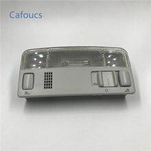 Cafoucs רכב כיפת קריאת אור מנורת פנים אורות עבור פולקסווגן פאסאט B5 פולו טוראן Caddy גולף MK4 Amarok עבור סקודה אוקטביה פאביה