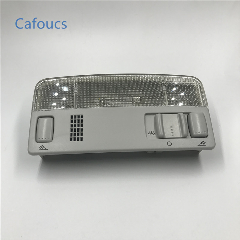 Cafoucs Car Dome Reading Light Lamp Interior Lights for VW Passat B5 Polo Touran Caddy Golf MK4 Amarok for Skoda Octavia Fabia image