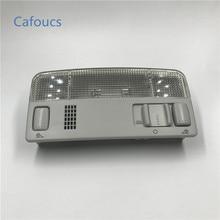 Cafoucs автомобильный купольный светильник лампа внутреннего освещения светильник s для VW Passat B5 Polo Touran Caddy Golf MK4 Amarok для Skoda Octavia Fabia