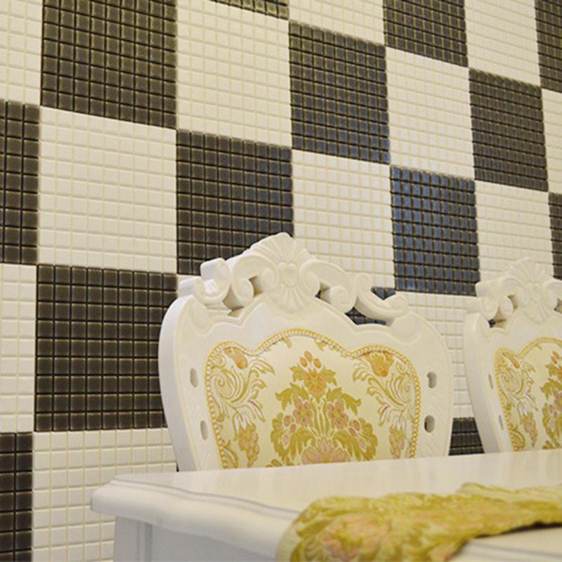 PE Foam 3D Wall Sticker Anti-collision Waterproof Self Adhesive Wallpaper Kids Safty Bedroom Wall Sticker for Home Office Decor