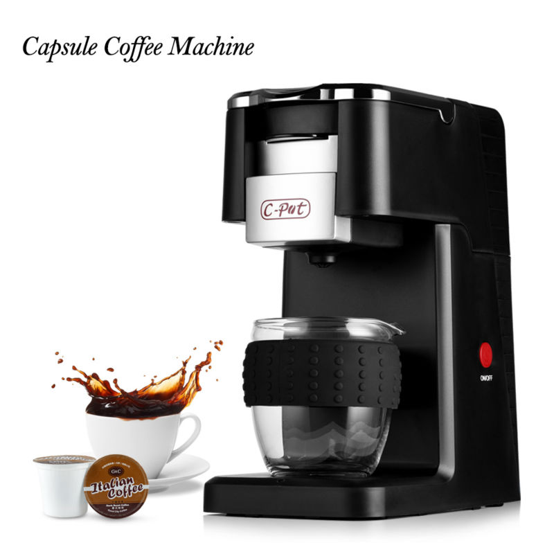 Coffee Maker Capsule Coffee Machine Capsule Type K-CUP Full-Automatic Espresso Cappuccino Coffee Machine Cafeteira Expresso italy espresso coffee machine semi automatic maker cup warming plate kitchen