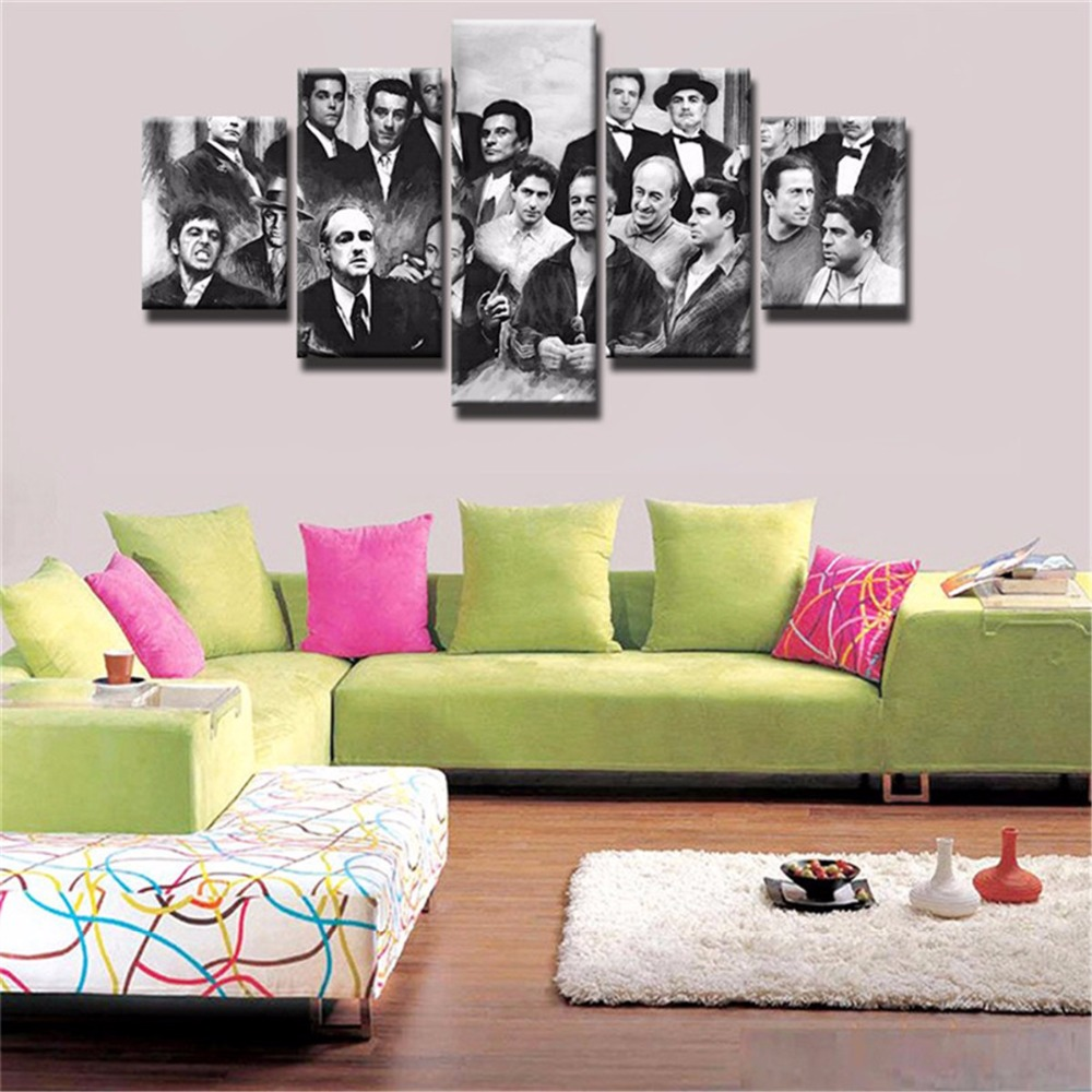 Movie-Poster-Room-Deco-Painting-On-Canvas-Modern-Home-Prints-Liveing-Room-Deco-5-Pieces-Top