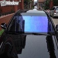 1 52x10m 70 Chameleon Window Tints Blue Chameleon Car Window Film