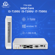 Mini PC Core CPU Gen 7th i3 7100U i5 7200U i7 7500U Windows 10 4K HD