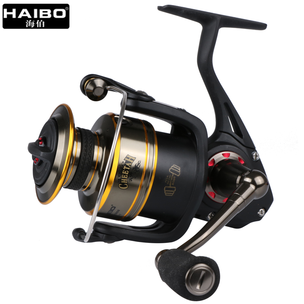 Haibo Cheetah Professional Sea Anti-Corrosion Spinning Fishing Reel 5.2:1 7BB Saltwater Big Game Trolling Fishing Wheel lucky john croco spoon big game mission 24гр 004