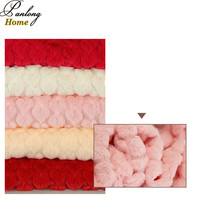 PanlongHome 2017 New 1 Yard Lot Polyester Knitted Fabric Women Fashion Fabric Pillow Case Fabric
