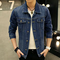 YG6160-9  Cheap wholesale 2016 new Denim jacket European and American classic coat of men's clothing of cultivate one's morality