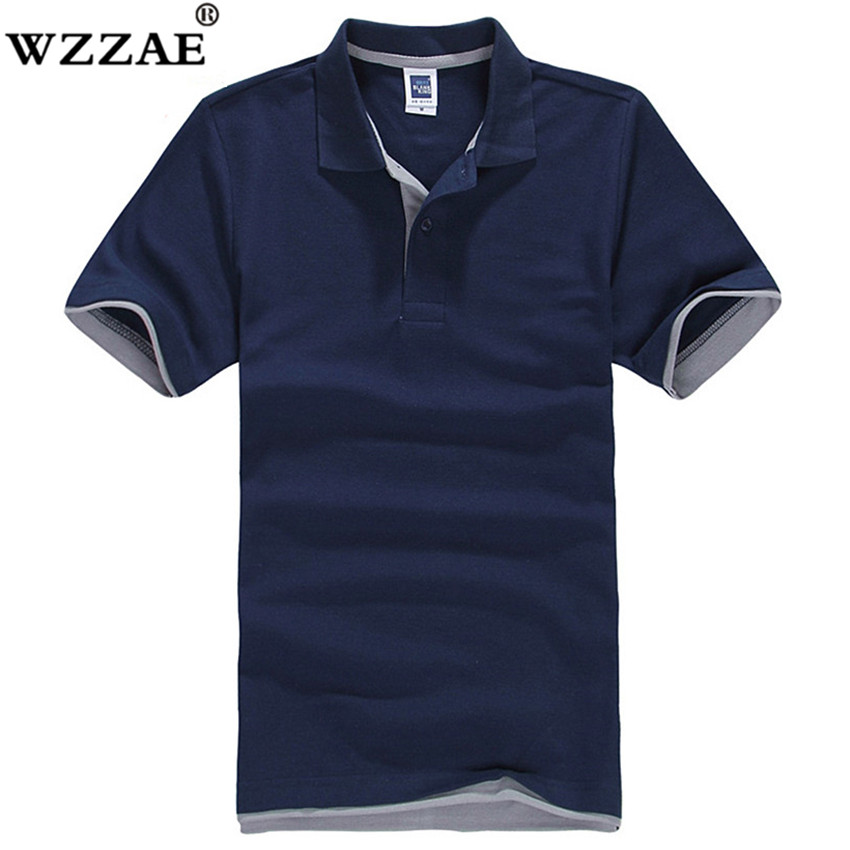 New 2018 Men's Brand   Polo   Shirt For Men Designer   Polos   Men Cotton Short Sleeve Shirt Brands Jerseys Golftennis Free Shipping