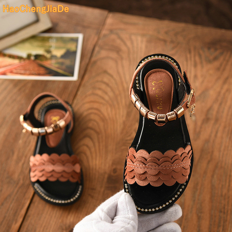 ef6ab6a92 2018 new children sandals girls sandals summer fashion kids sandlas cute  buttery tie design princess shoes girls Bowtie shoes