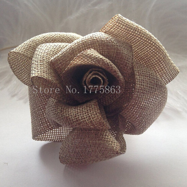 christmas decor 2 meters burlap ribbon natural 50mm hessian jute weave ribbon wedding party decoration aa7919